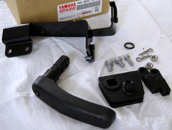 Yamaha outboard motor Remote control attachment F6A, F8C, FT8D,