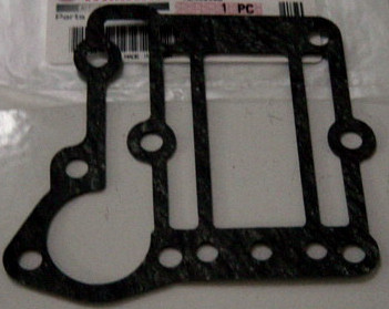 Yamaha foradeborda motor Gasket, exhaust outer cover 4A, 4AS
