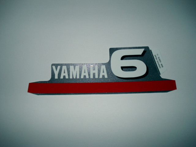 Yamaha foradeborda motor Graphic rear 6cv