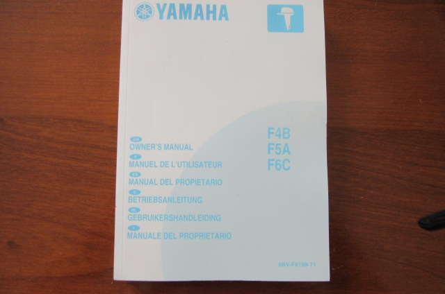 Owners Manual Yamaha F4B, F5C, F6C