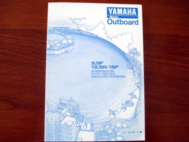9.9 mariner owner manual
